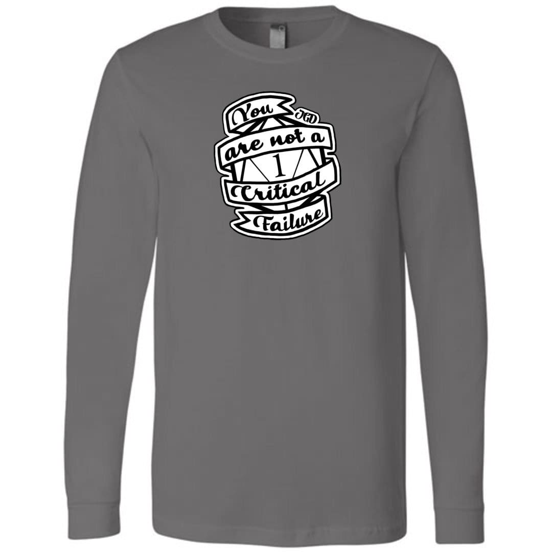 jaspers-game-day-you-are-not-a-critical-failure-unisex-premium-long-sleeve-tee-asphalt