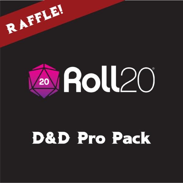 d&d pro pack raffle
