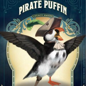 pirate puffin pin