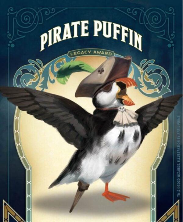 pirate puffin pin